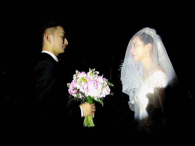 wedding-veil-bride-groom-people picture material