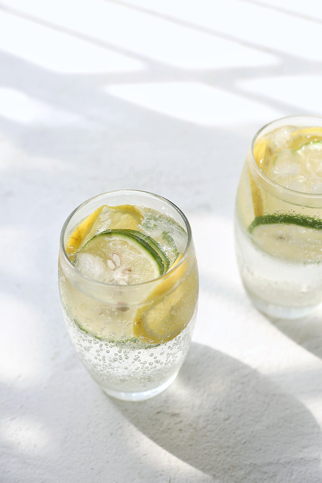 cold-icee-glass-drink-lemon 图片素材