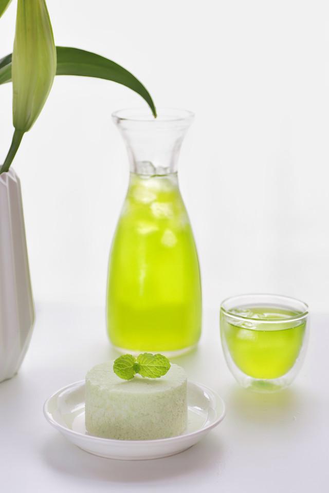 no-person-glass-leaf-health-juice 图片素材