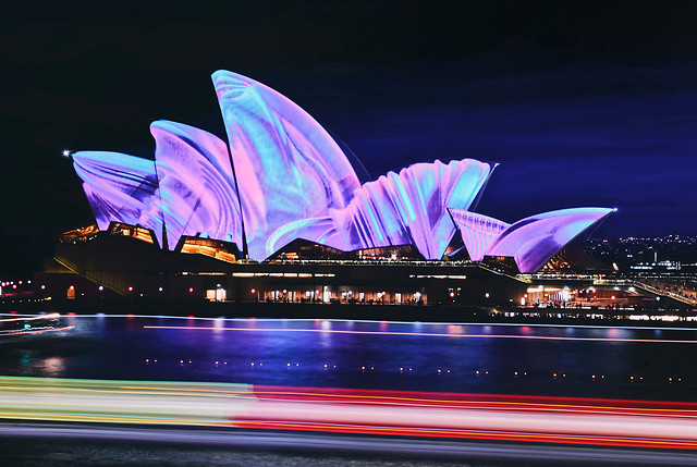 opera-house-no-person-travel-evening-light picture material