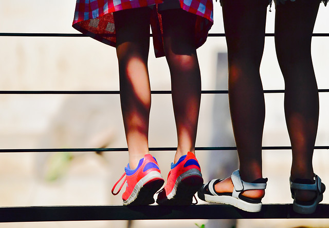 footwear-shoe-woman-red-people picture material