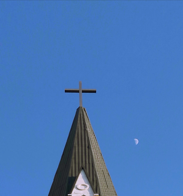 church-religion-cross-no-person-sky picture material