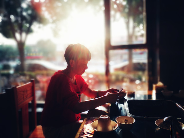 people-restaurant-adult-man-coffee picture material