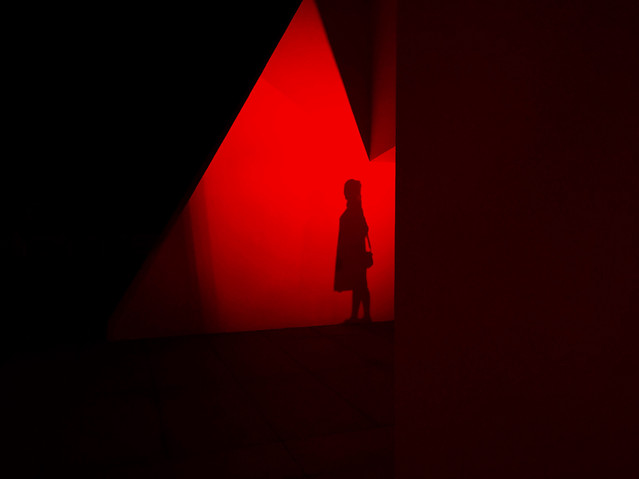 silhouette-shape-abstract-red-shadow picture material