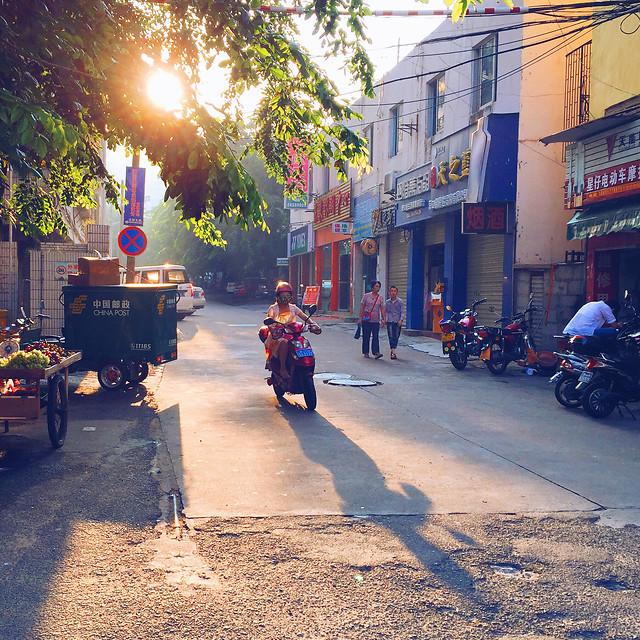 street-road-police-city-car 图片素材