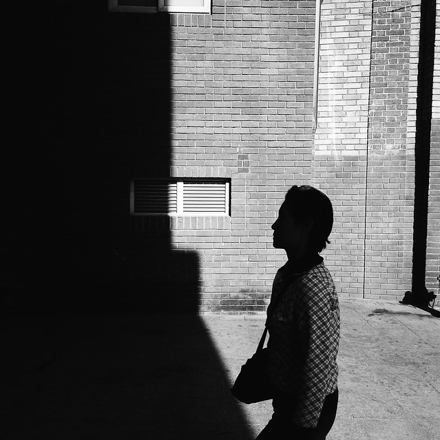 people-child-street-shadow-silhouette picture material