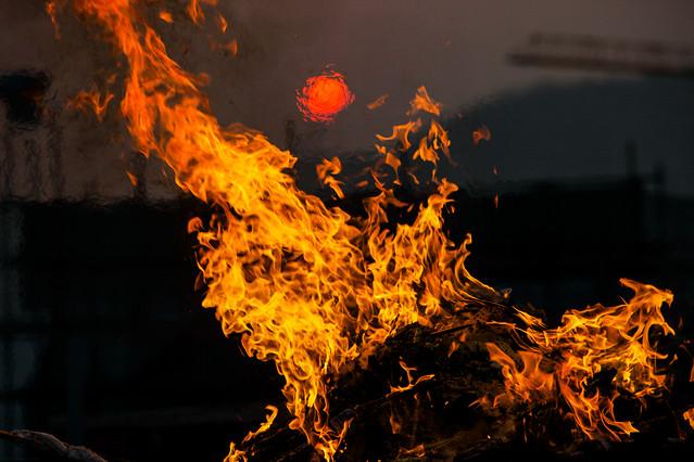 flame-bonfire-campfire-fireplace-wildfire 图片素材