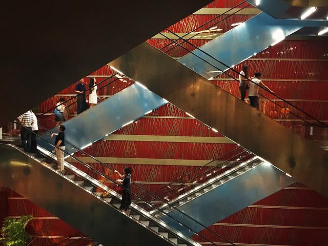 bridge-transportation-system-light-travel-architecture picture material