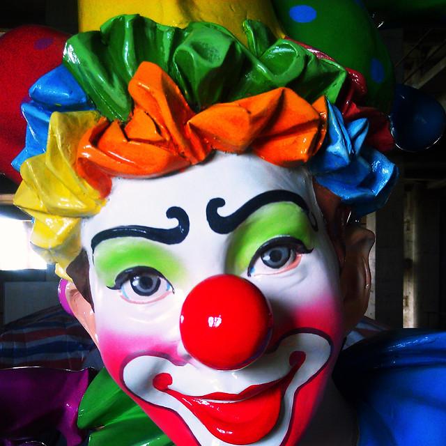clown-circus-no-person-art-bright picture material