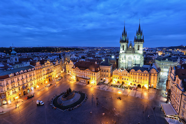 city-travel-architecture-dusk-evening picture material