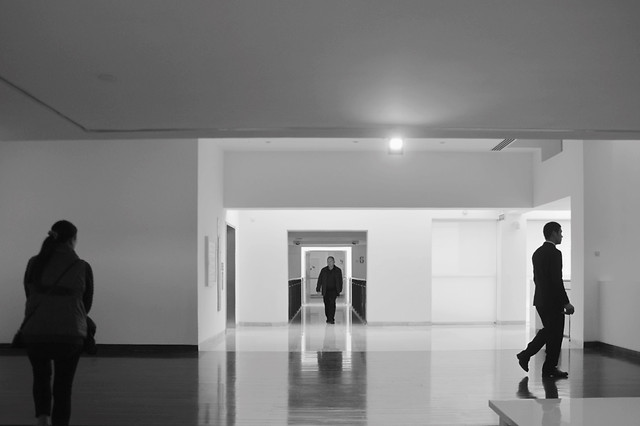 people-museum-exhibition-light-man picture material
