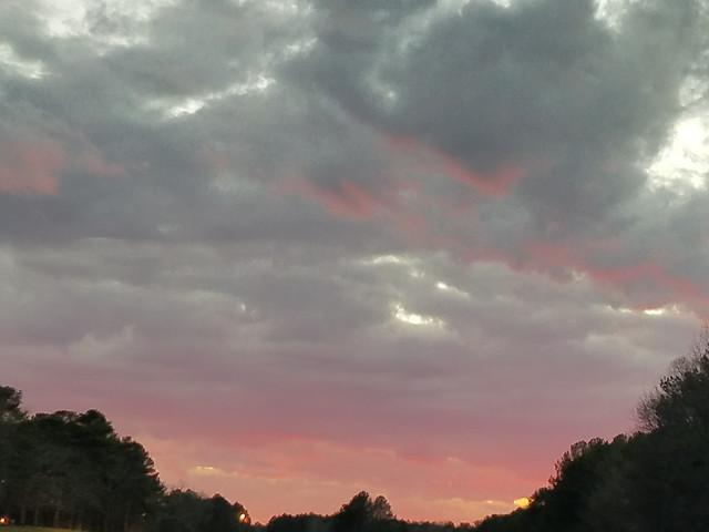sky-sunset-landscape-no-person-cloud picture material