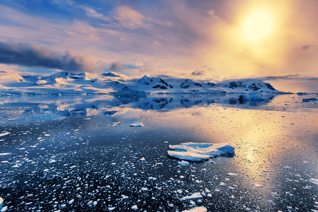 snow-water-sunset-no-person-ice 图片素材