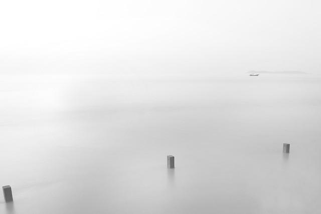 fog-no-person-landscape-art-black-and-white picture material