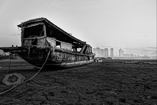 monochrome-water-sea-beach-black-and-white picture material