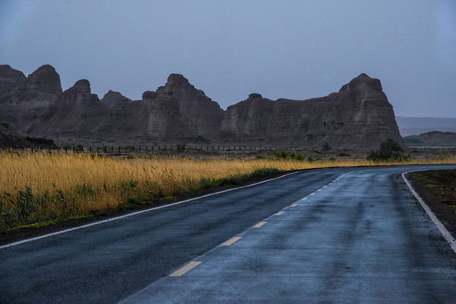 no-person-landscape-road-travel-sky picture material