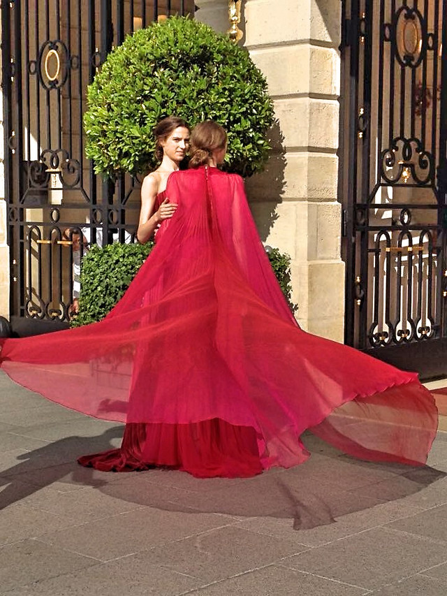 dress-gown-fashion-woman-people picture material