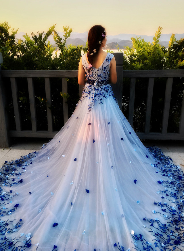 wedding-bride-dress-gown-girl picture material
