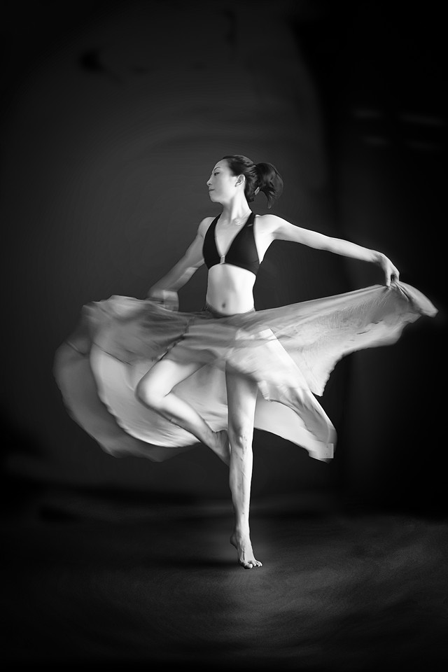 ballet-monochrome-ballerina-people-dancer picture material