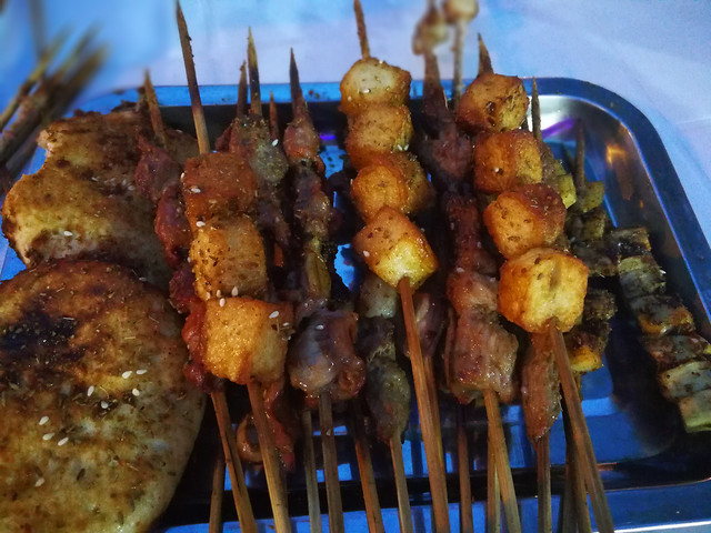 skewer-barbecue-kebab-meat-food 图片素材