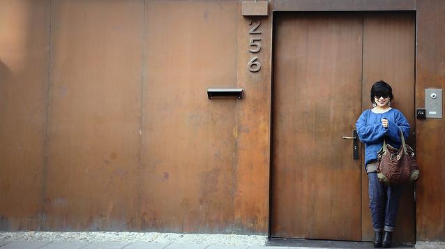 wall-door-blue-wood-doorway picture material