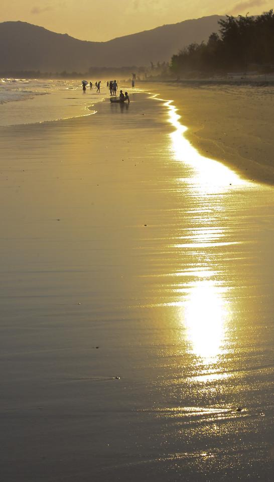 beach-water-sunset-dawn-sun picture material
