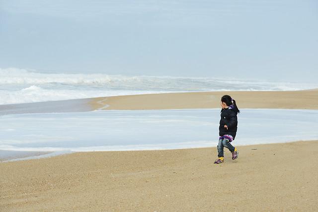 beach-sand-sea-seashore-water picture material