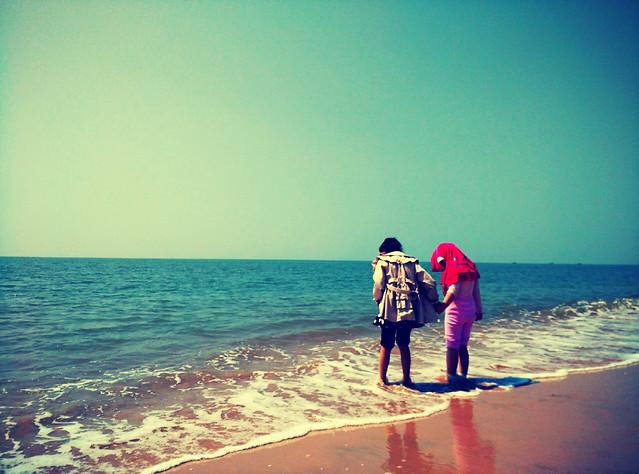 beach-water-sea-ocean-sun picture material