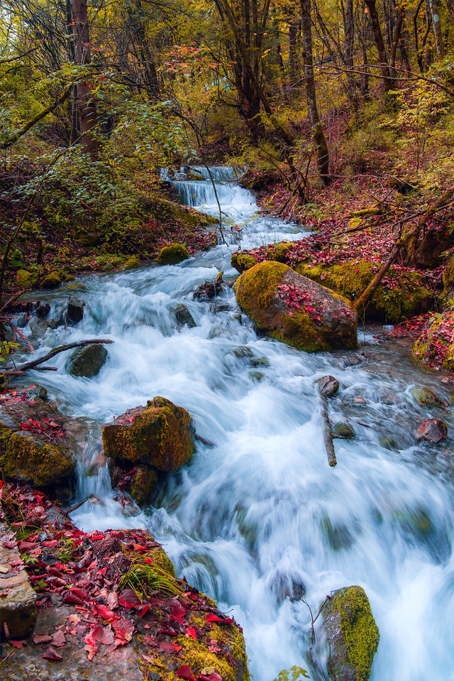 fall-stream-waterfall-river-water picture material