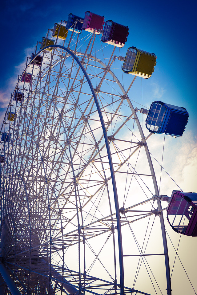ferris-wheel-no-person-carousel-entertainment-carnival 图片素材