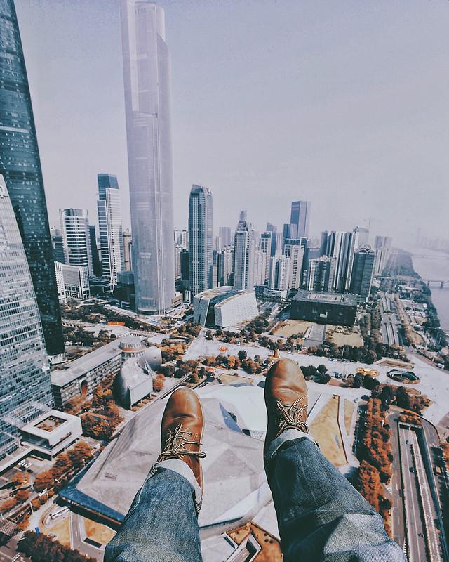 city-skyscraper-travel-architecture-building picture material