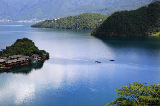 water-no-person-travel-watercraft-landscape picture material