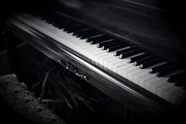 piano-music-instrument-sound-ebony picture material