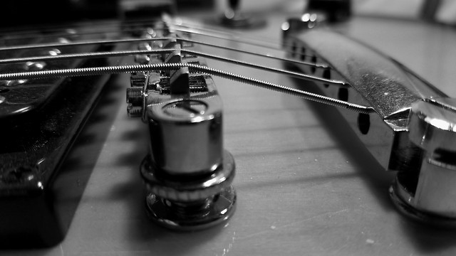 guitar-instrument-sound-monochrome-music picture material
