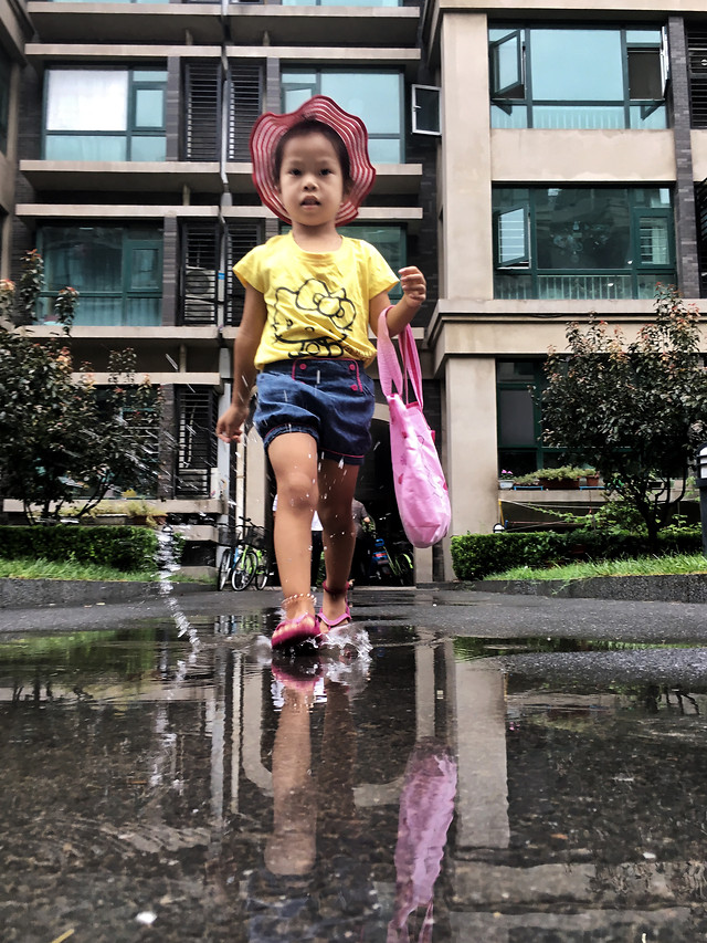 child-people-fun-outdoors-street picture material