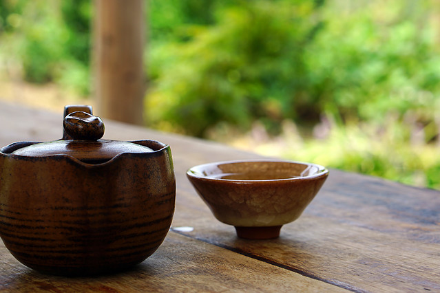 no-person-wood-cup-tea-bowl 图片素材