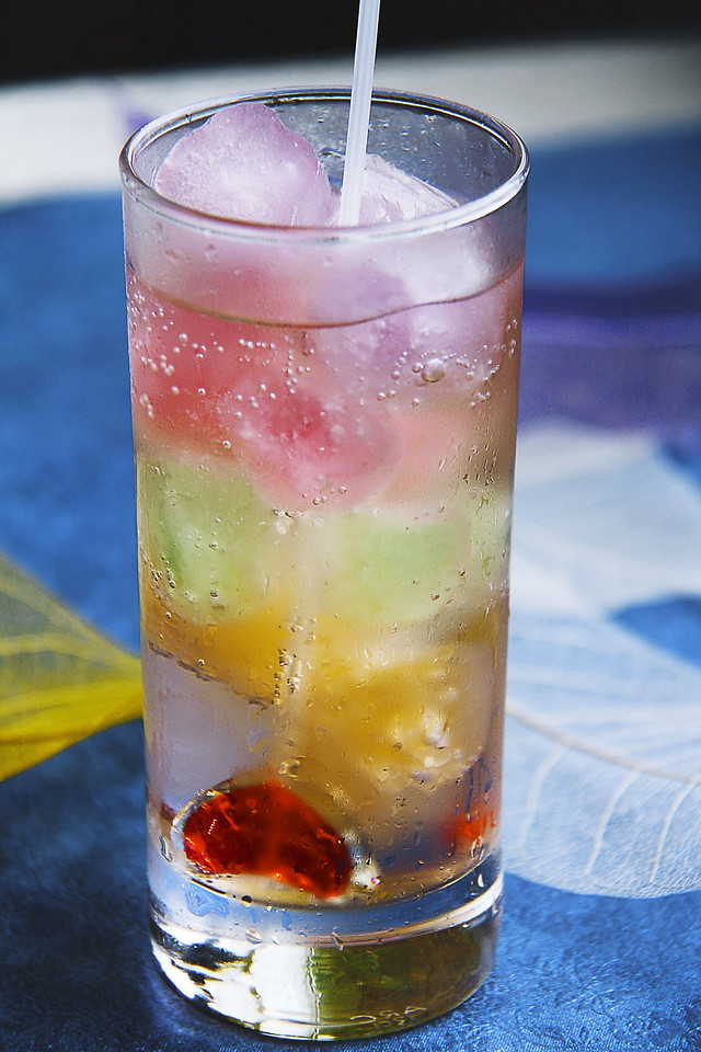 icee-glass-cold-drink-cocktail 图片素材