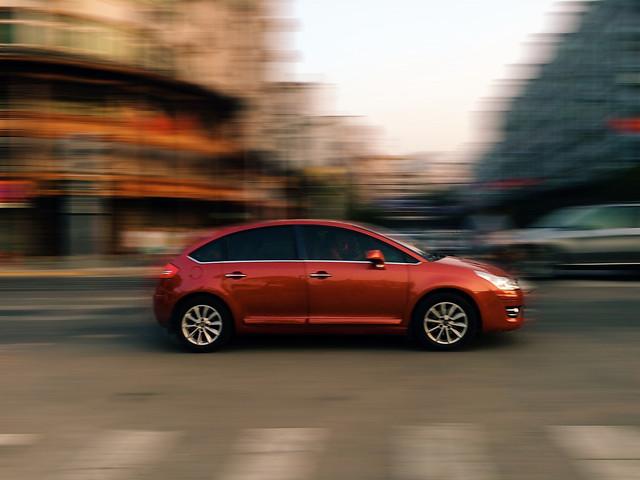 car-blur-asphalt-pavement-blacktop picture material