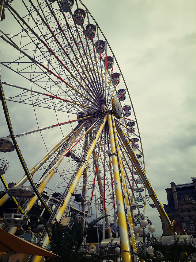 festival-ferris-wheel-no-person-carousel-carnival picture material