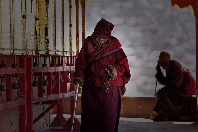 people-religion-monk-adult-one picture material