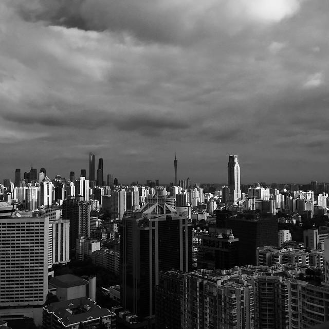 city-downtown-skyline-skyscraper-architecture picture material