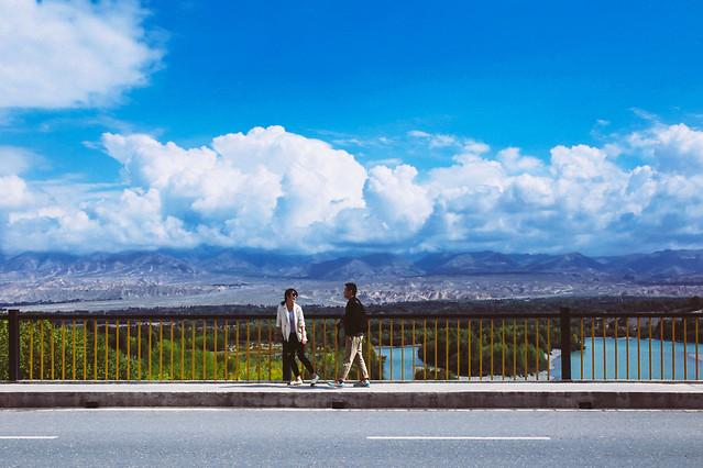 cloud-sky-travel-landscape-road picture material