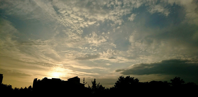 no-person-sunset-sky-cloud-dawn 图片素材