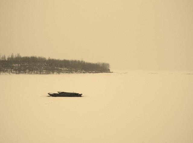 fog-water-mist-dawn-landscape picture material
