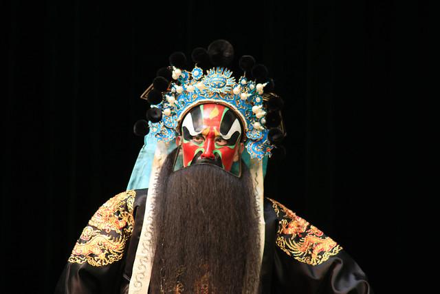 people-veil-art-peking-opera-sculpture picture material