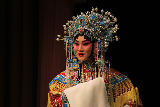 people-adult-woman-peking-opera-one picture material