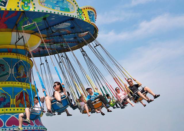 fun-entertainment-carnival-exhilaration-carousel picture material