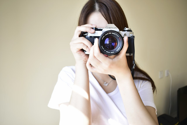 lens-woman-photographer-girl-fashion picture material