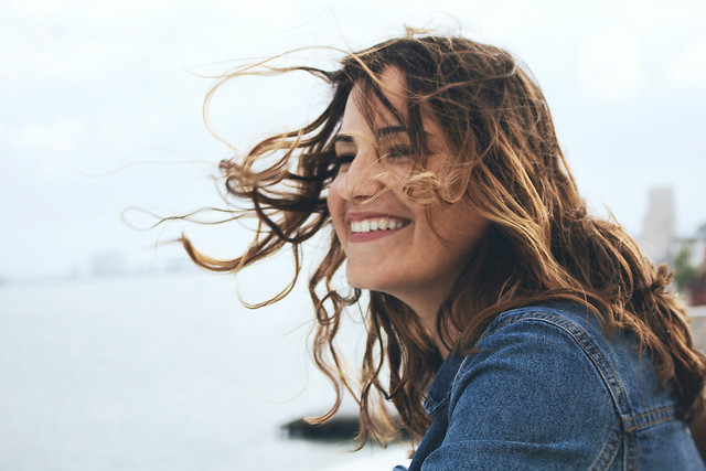 girl-portrait-beautiful-woman-smile picture material