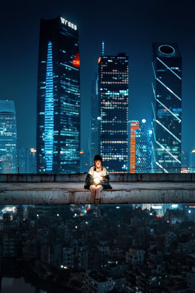 metropolitan-area-city-cityscape-skyscraper-building 图片素材